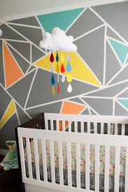 Wall Paintings Designs Best 25 Geometric Wall Art Ideas On Pinterest Masking Tape Wall