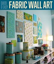 Best 25 Fabric wall art ideas on Pinterest