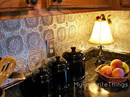 kitchen fasade backsplash fasade ceiling tiles tin backsplash decorating creating breezy kitchen design using tin backsplash