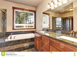 Luxury Bathroom Vanities by Luxury Bathroom With Vanity Cabinet With Granite Counter Top And