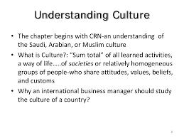 International Business Manager Cultural Environments Facing Business International Business
