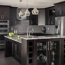 modern kitchen decor ideas best 25 black kitchen cabinets ideas on black modern black
