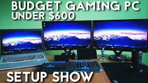 budget gaming pc under 600 2016 for 1080p gaming setup show
