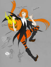 halloween spirit jackeline the halloween guardian by ivyro on deviantart