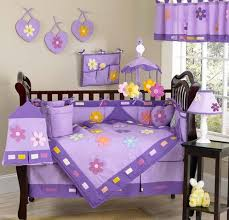 danielle u0027s daisies purple crib bedding sets from jojo only 92 99