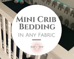 custom crib and baby bedding by rockytopdesign on etsy