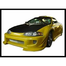 mitsubishi eclipse fast and furious front bumper mitsubishi eclipse 1995 1997 fast furious type