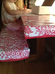 fitted picnic table covers fitted oilcloth table cover craftiness is not optional crafty