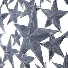 americano u0027 rustic grey metal star home wall art home33