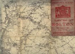 Paper Town Map Lancashire Online Parish Clerk Project