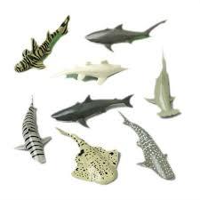 amazon com shark toy animals 12 count toys u0026 games