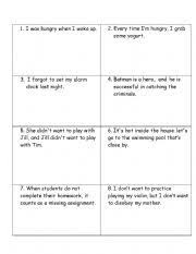 english teaching worksheets other games