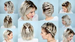 types of hair braids braided hairstyles for short hair braids for short hair