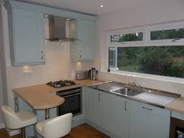 kalibre kitchens bathrooms milbourne painted in china blue mrs mrs higgins surrey