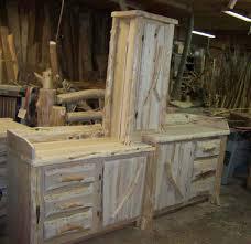 rustic furniture bathroom vanities kitchen cabinets handmade