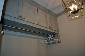 Laundry Cabinet With Hanging Rod Laundry Room Hanging Rod Ideas Home Design Ideas