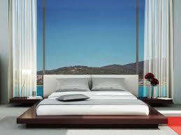 Flat Platform Bed Frame by Bedroom Modern King Platform Bed Frame Built In Side Table And