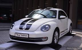 volkswagen bug 2016 white volkswagen beetle bug edition launched u2013 rm147k