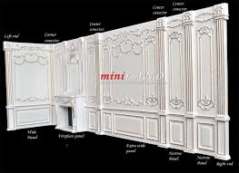 White Wall Paneling by Wide Panel Royal Paneling Line White