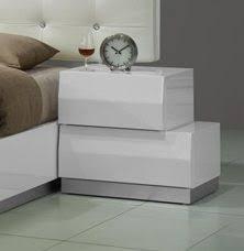 milan modern night stand in white lacquer finish jmmilan