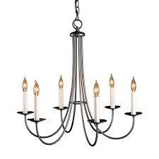 Simple Chandelier Hubbardton Forge Simple Sweep 6 Light Candle Style Chandelier