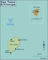 map of sao tome são tomé and príncipe wikitravel