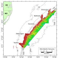 Fsu Map About The Mission Deepwater Canyons