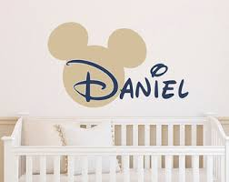 Personalized Nursery Wall Decals Wall Decal Name Decals For Walls Inspiration Personalized Name