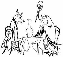 fox stork