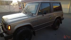 dodge raider mitsubishi montero 2 door rare original find brown