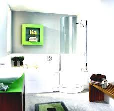 no baseboards in mid century modern bathroom baseboard molding img