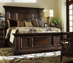 Room Place Bedroom Sets Tommy Bahama Island Traditions Sutton Place Pediment Mansion Bed