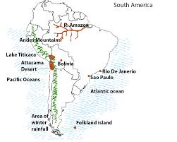 The Map Of South America by South America Kullabs Com