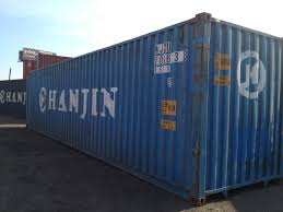 sample 40 u0027 hanjin shipping container cargo shipping containers