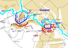 Fredericksburg Va Map Chancellorsville Battlefield Map Civil War Chancellorsville