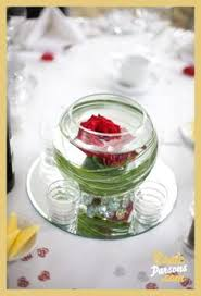 Red And White Centerpieces For Wedding by Wedding Centerpiece Singe Red Rose Kind Of Like The Feather