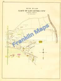 Map Of Lancaster Pa Andy U0027s Antique Maps 1899 Lancaster County Pennsylvania U003e 1862