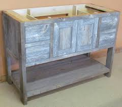 Unfinished Wood Vanities Barn Wood Bathroom Traditional Bathroom Vanities And Sink Consoles