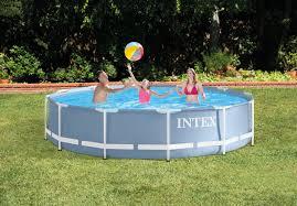 Intex 12x30 Pool 12ft X 30in Prism Frame Pool Set Intex