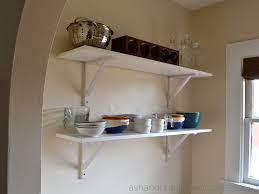 Open Kitchen Shelving Ideas Kitchen Shelving Ash And Orange