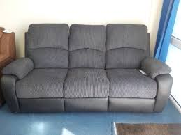 three seater recliner sofa stanbury 3 seater future fabric powered recliner sofa recliner