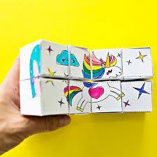hello wonderful how to make a magic paper art cube