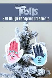 make your own salt dough handprint trolls ornament viva veltoro
