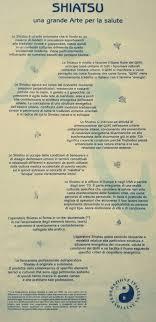 si e de shiatsu il manifesto dello shiatsu una grande arte per la salute viva