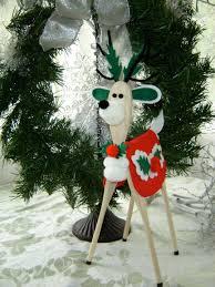 handmade wooden spoon reindeer christmas pinterest reindeer