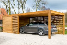 Carport Designs Carport Of Garage In Hout Met Berging Of Fietsstalling Woodstar