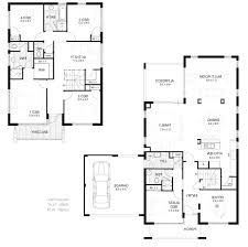 Simple Two Storey House Design by Double Bedroom House Plan Modelismo Hld Com