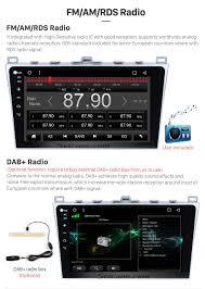 android 6 0 2008 2015 mazda 6 ultra radio gps navigation system