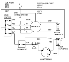 wiring diagram of window ac wiring wiring diagrams collection