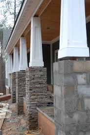 tapered columns centurion stone u003e ledge u003e pennsylvania house